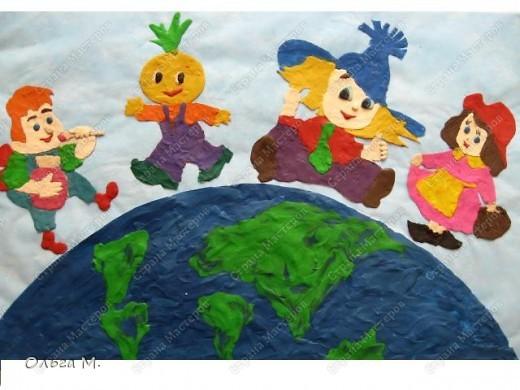 рисуем сказочный персонаж мастер класс детский сад наш