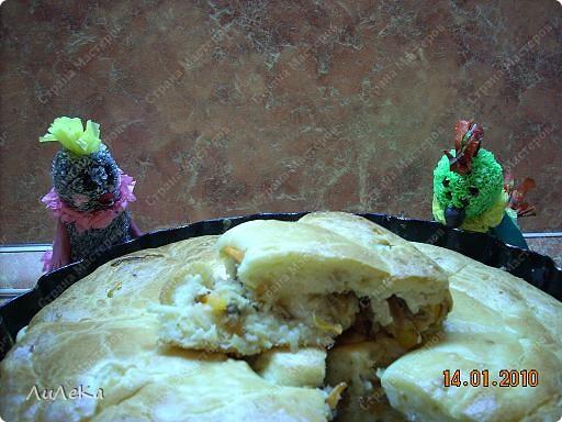 Девчонки и мальчишки! А так же их родители! Пирог с начинкой рыбной испечь вы не хотите ли? Пирог на майонезе учили печь мы вас. Его же, но с начинкой мы испечем сейчас! Рома! Рикки! Мы начинаем! фото 9