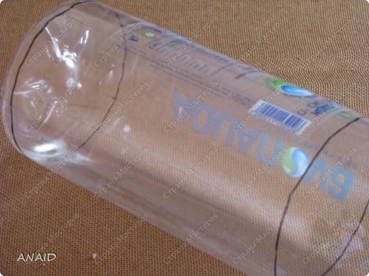 пластиковая бутылка-фото рамка(МК) фото 13