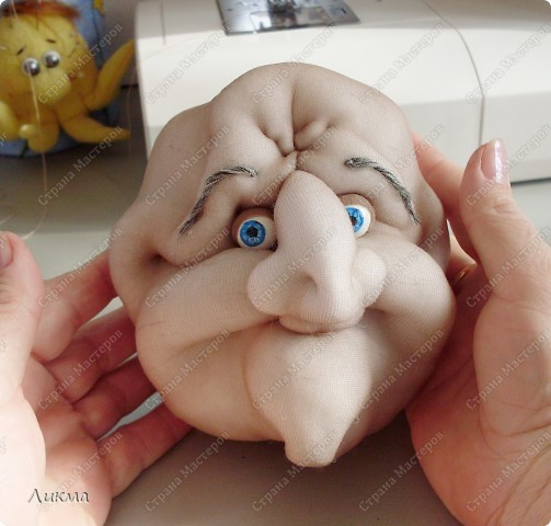 Итак, кукла-домашка у нас  будет, никто иной, как Баба Яга:) фото 55