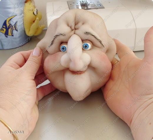 Мастер-класс Шитьё Кукла-домашка Часть первая Личико   Ткань фото 1