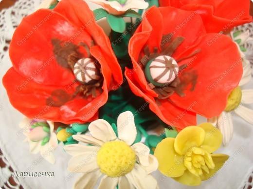 Полевые цветы и МК маки.