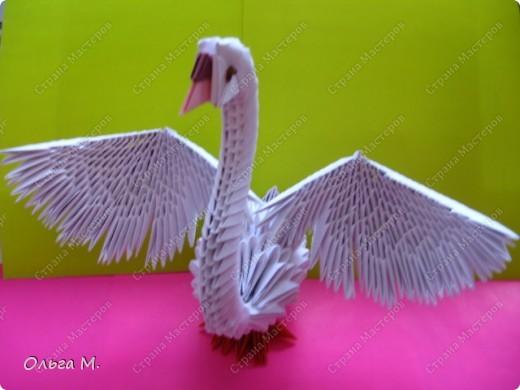 модульное Лебедь гусь аист