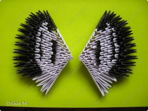 Модульное оригами - Лебедь