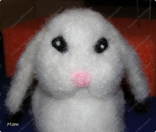 Крольчишка размером 8,5х9 см. фото 21