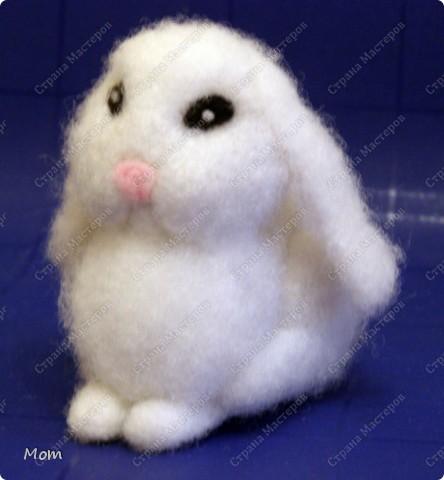 Крольчишка размером 8,5х9 см. фото 1