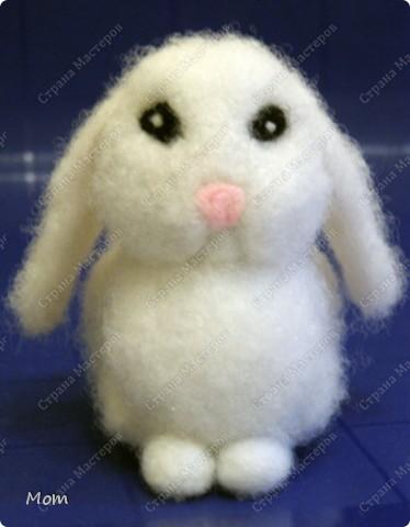 Крольчишка размером 8,5х9 см. фото 22