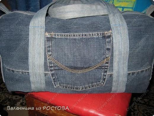 Спортивные сумки из джинсов своими руками