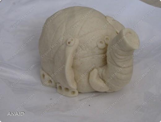 Мастер-класс Скульптура Лепка Роспись слонёнок и рыбка на монетках МК Тесто соленое фото 1