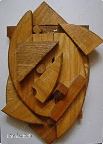 Композиция из дерева фото 2