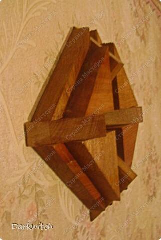 Композиция из дерева фото 1
