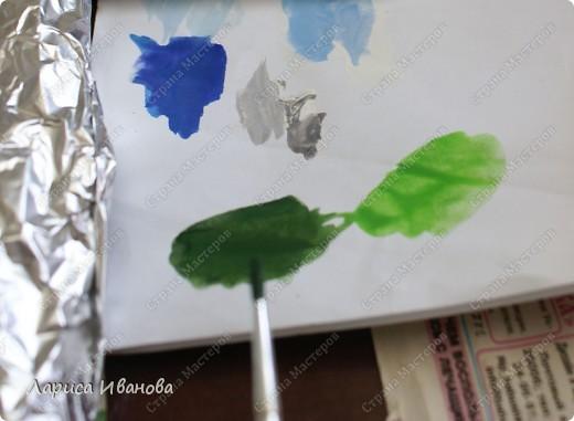 Картина панно рисунок Мастер-класс Новый год Рождество Лепка Роспись Раки от Р до И   Акварель Гуашь Тесто соленое фото 73