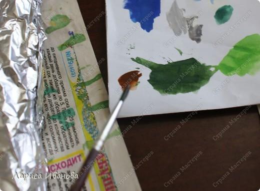 Картина панно рисунок Мастер-класс Новый год Рождество Лепка Роспись Раки от Р до И   Акварель Гуашь Тесто соленое фото 81