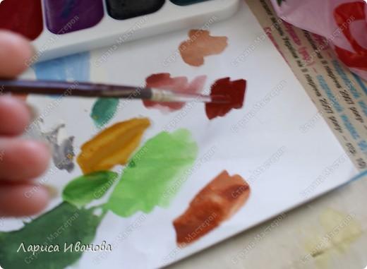 Картина панно рисунок Мастер-класс Новый год Рождество Лепка Роспись Раки от Р до И   Акварель Гуашь Тесто соленое фото 94