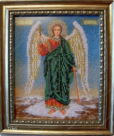 Ангел Хранитель. Вышивка Не