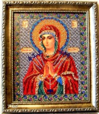 Вышивка бисером иерусалимская