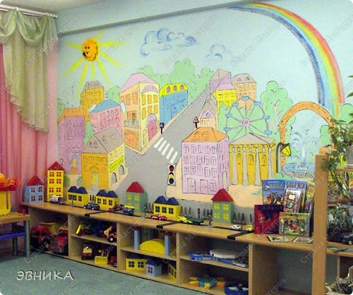 Современное оформление детского сада своими руками