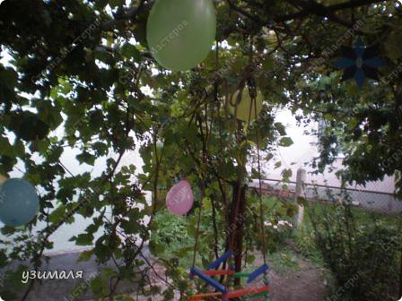 Надули и развесили шарики, фото 1