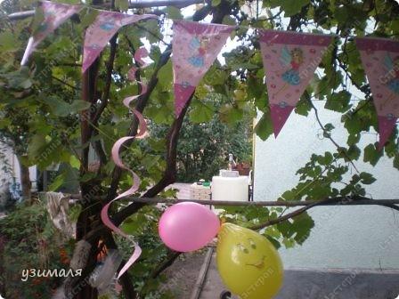 Надули и развесили шарики, фото 4