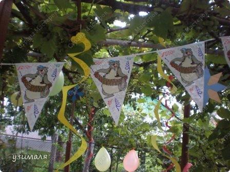 Надули и развесили шарики, фото 5