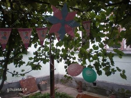 Надули и развесили шарики, фото 6