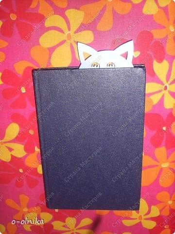 Идею этой закладки мне подарила Голубка. К новому учебному году для ребенка сделайте забавный подарок. Голубой щенок смело охраняет нужую страничку и не  даёт ей затеряться. фото 4