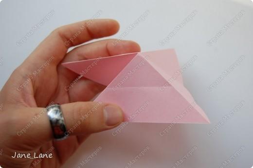 года Оригами Закладка для