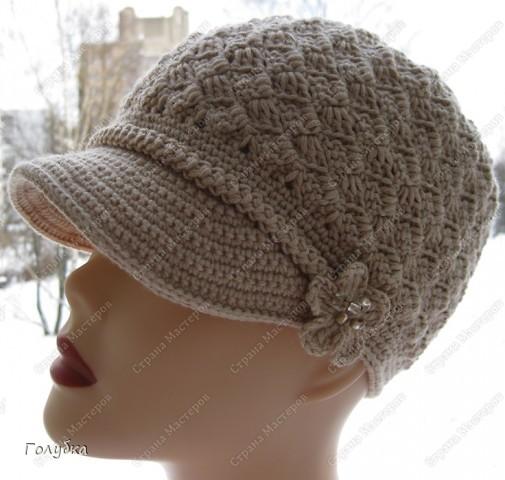 Предлагаю, вместе разобрать вязание кепочки, т.к. этот головной убор в гардеробе барышень становится актуальным и популярным!<br /> <br /> <br />  фото 1