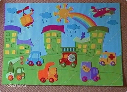 Раскраски и аппликации для детей