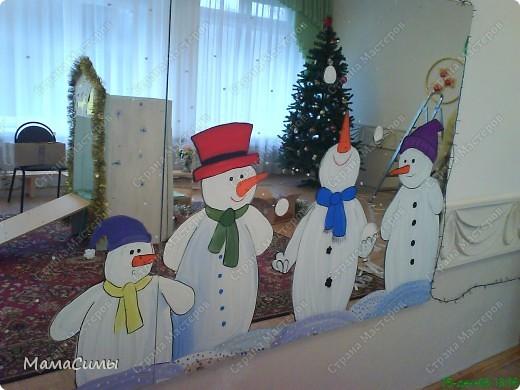Украшение группы в детском саду на новый год своими руками фото