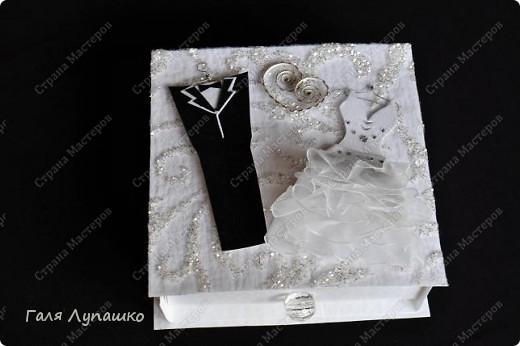 Свадебная коробочка для денег фото 1