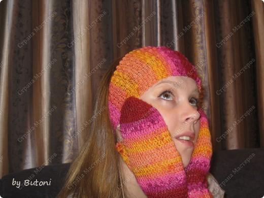 Гардероб Мастер-класс Вязание крючком Варежки и