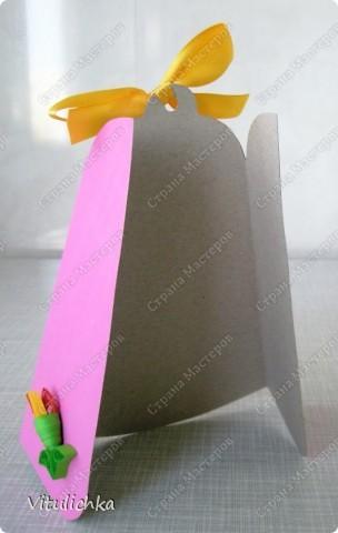 Ко Дню учителя почти готовы! Осталось только подписать открытки. Делали вместе с пятиклассницами. фото 3