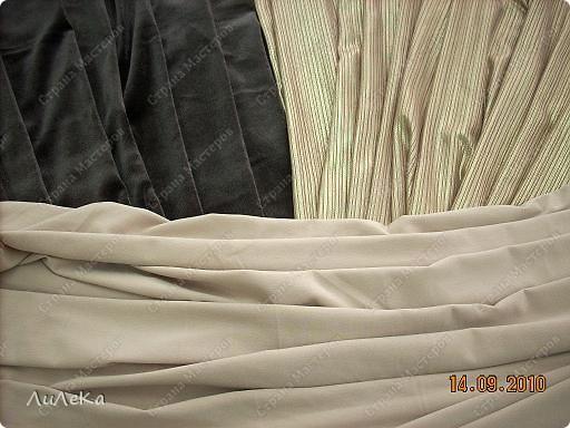 Интерьер Мастер-класс Шитьё Подушка сбуфами Плетенка Нитки Ткань фото 12