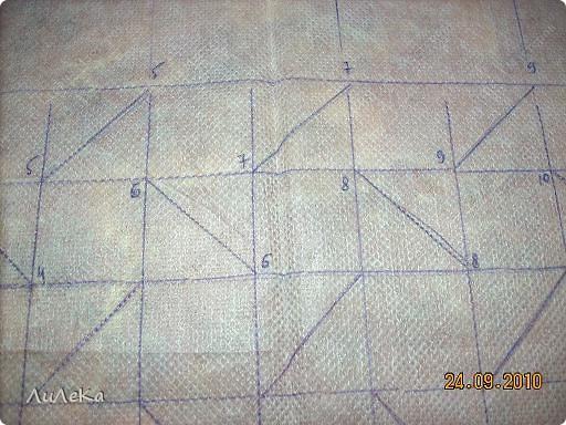 Интерьер Мастер-класс Шитьё Подушка сбуфами Плетенка Нитки Ткань фото 20