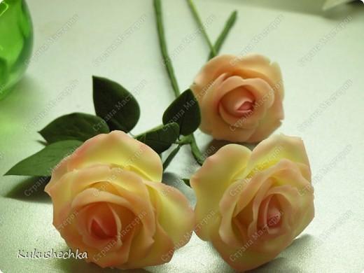 """Цветы из фарфора) Для """"зажигалочки""""))))))))) фото 1"""