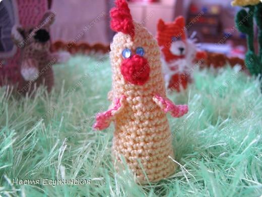 Вот  такая  сказочная  полянка  со  зверушками и Красной  Шапкой фото 4