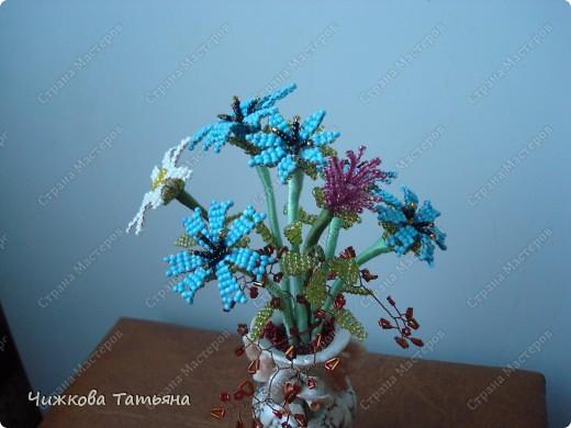 Теперь благодаря бисеру мои любимые цветы круглый год будут меня радовать. фото 1