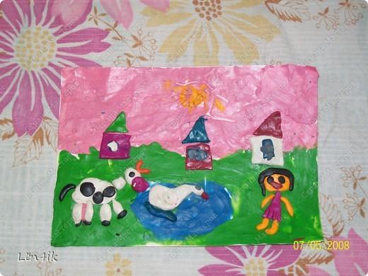 Роза из биссера для учительницы на 1 сентября(2 класс-7 лет) фото 11