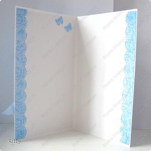 Идея открытки не моя, мое исполнение))))  фото 3
