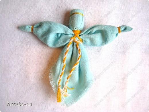 Сделать ангела из ткани своими руками