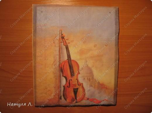 Подарок коллеге на день рождения. Она когда-то играла на скрипке фото 7