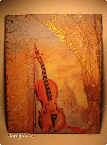 Подарок коллеге на день рождения. Она когда-то играла на скрипке фото 1
