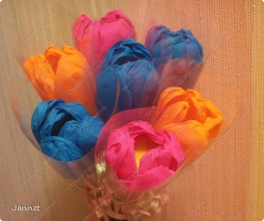 Сладкие цветочки для учителей фото 2