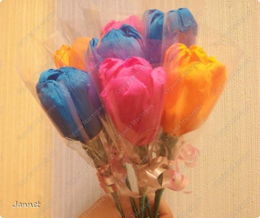Сладкие цветочки для учителей фото 1