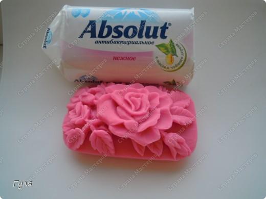 """цветы-это моя маленькая женская слабость...тему роз не могла пройти стороной и как результат """"мыльная роза"""" фото 2"""