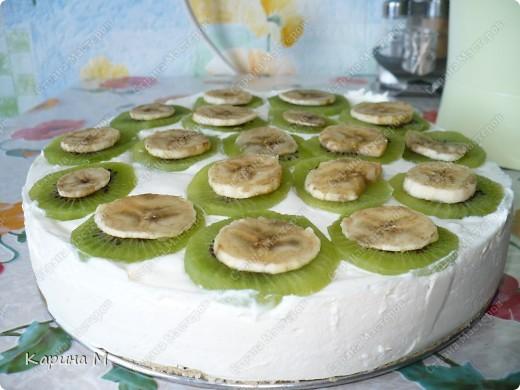 Чизкейк творожно фруктовый фото 2