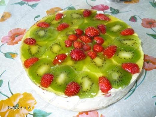 Чизкейк творожно фруктовый фото 1