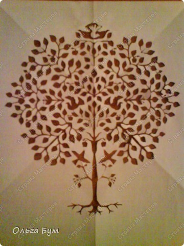 Дерево с птичками фото 1
