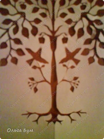 Дерево с птичками фото 2